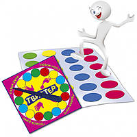 """Игра """"Твистер"""" MKT0101, разные настольные игры,детская настольная игра,настольные игры для детей,игры детские"""
