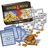 """Игра """"Бинго & Лото"""" MKP0902, детское лото,лото,детская настольная игра,детское домино"""