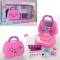 Набор сумка - косметика J1020, игрушки для девочек,игрушечный салон красоты,детское трюмо,трюмо для девочек