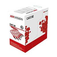 Кабель витая пара 24AWG UTP CAT 5E Hikvision DS-1LN5E-S