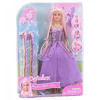 Кукла DEFA 8182 (Фиолетовый), куклы,куклы типа барби,кукла барби,куклы для девочек