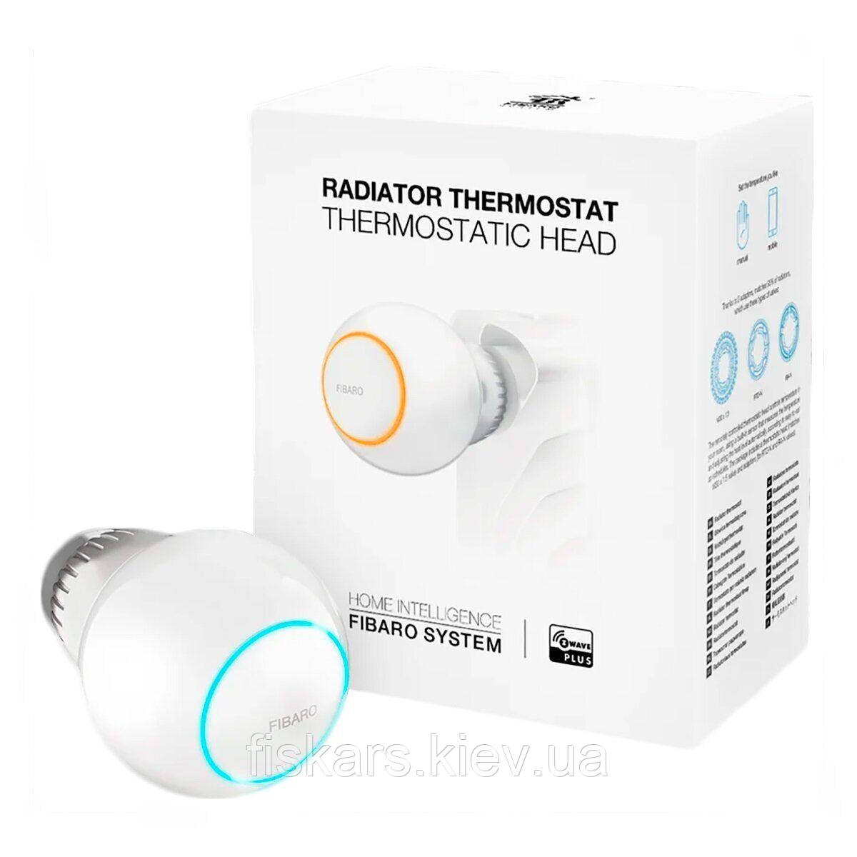 Радиаторный термостат Fibaro Heat Controller Thermostat Head - FIBEFGT-001
