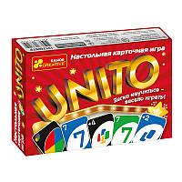 """Настольная игра """"Унито"""" (Р) 12170007, детская настольная игра,карточные настольные игры,настольные игры для"""