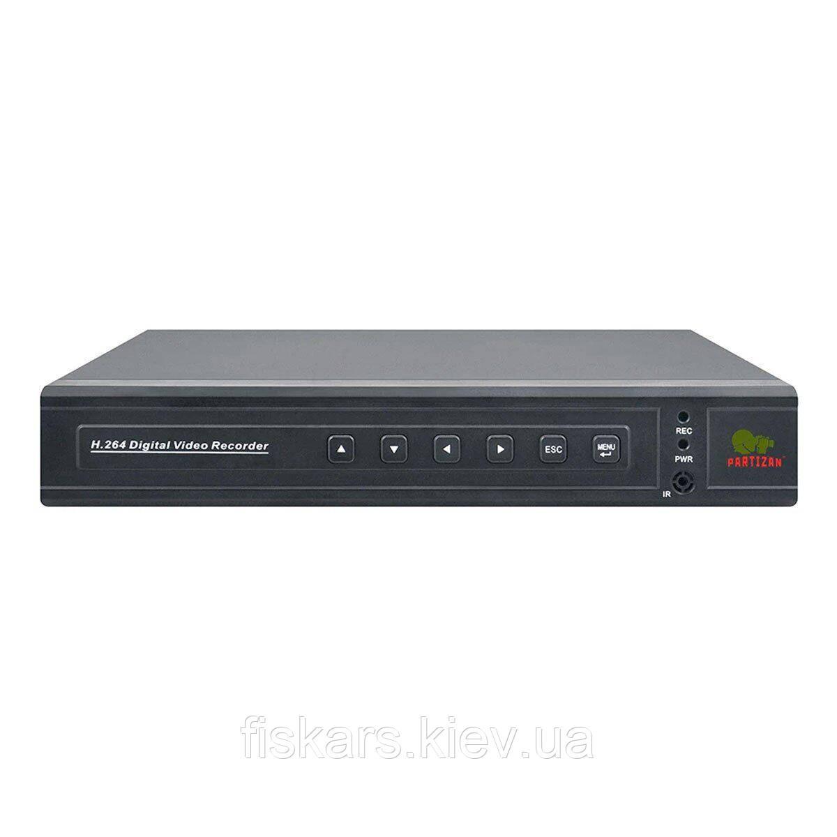 16-канальний AHD відеореєстратор Partizan CHD-116EVH HD 4.1