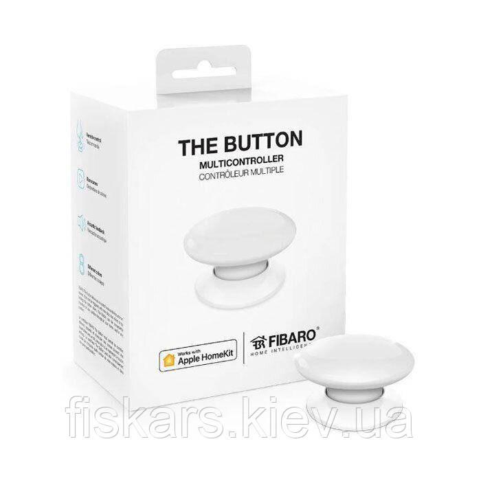 Кнопка управления Fibaro The Button для Apple HomeKit