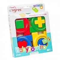 """Играшка-пазл """"Детское домино"""" 39357, игрушки для малышей,сотер,деревянные игрушки,самых маленьких"""