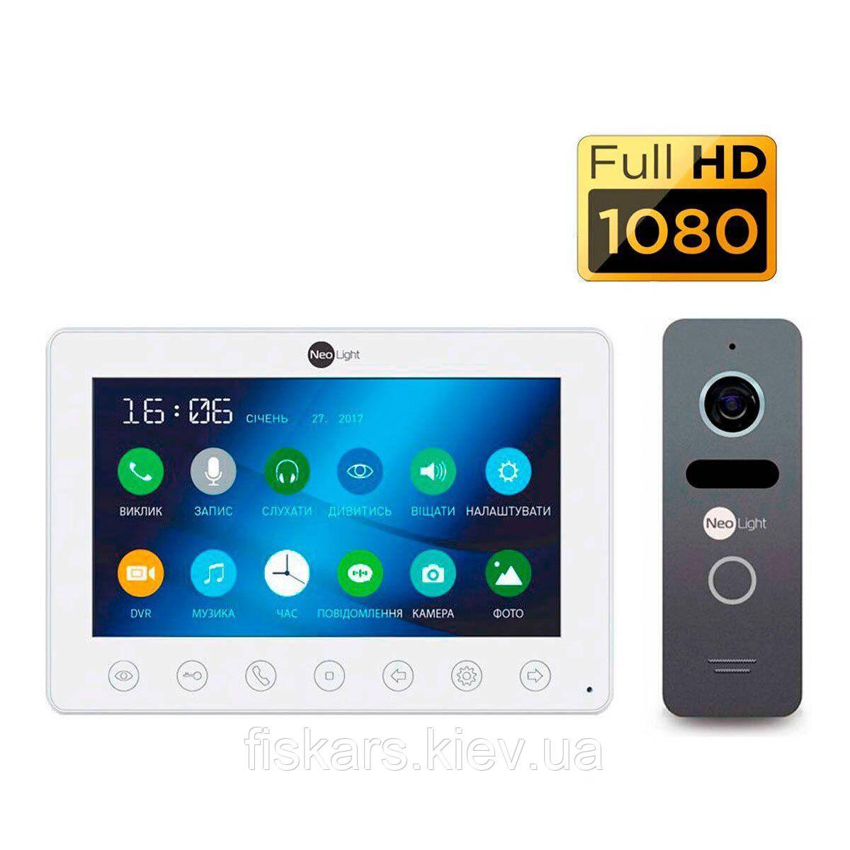 Комплект видеодомофона NeoLight Omega+HD Solo FHD