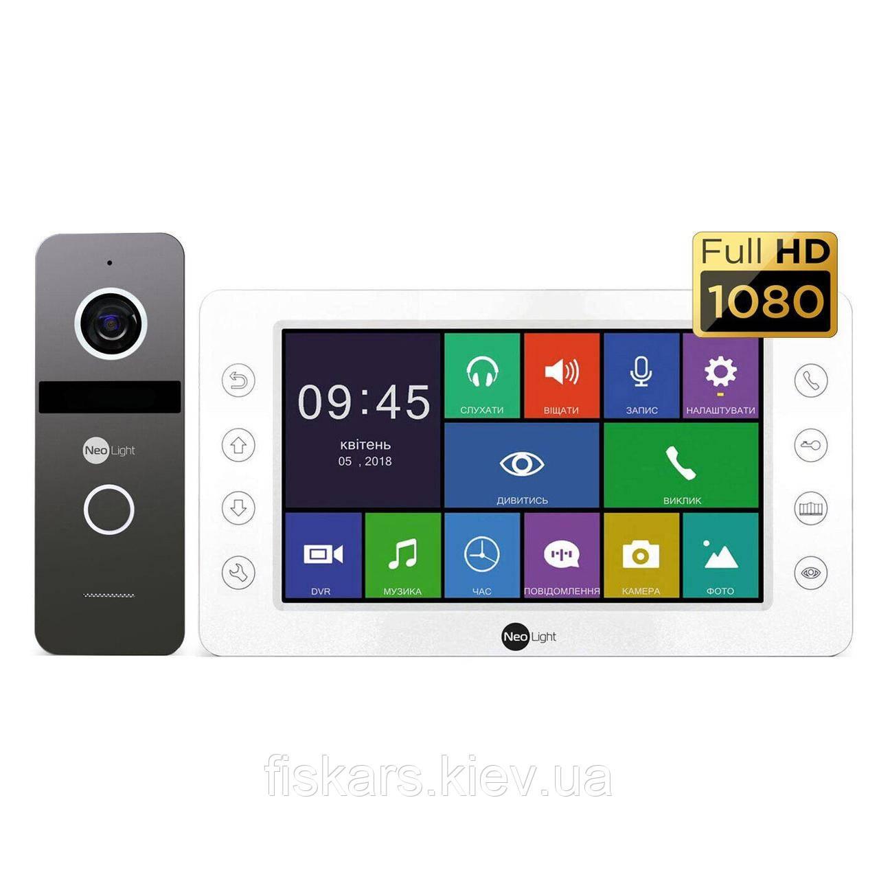 Комплект відеодомофона NeoLight Kappa+ Solo HD FHD