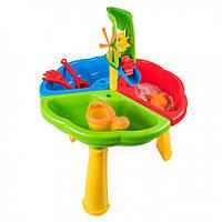 Игровой Столик для песка и воды 39678, игрушки в песочницу,игрушки для улицы,игрушки для малышей,песочные