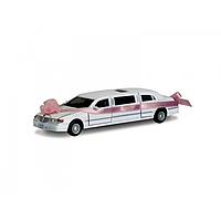 Жел. машинка КТ7001WW Лимузин СВАДЕБНЫЙ, металлические модели,машинка,игрушки для мальчиков,машина