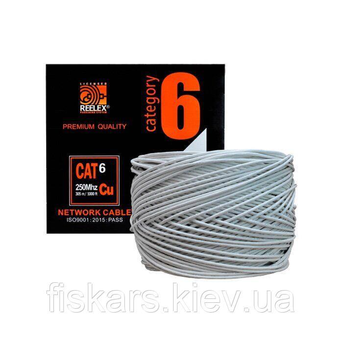 Кабель FTP PVC Cat6Е 0.56 мм TRINIX (305 м)