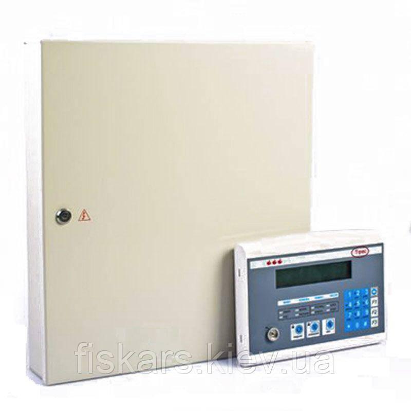 Пожарный приемно-контрольный прибор Тирас 16.128П (металл) + ВПК Тирас