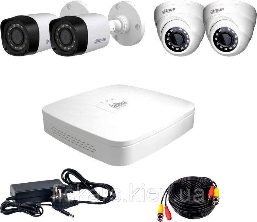 Комплект видеонаблюдения Dahua HDXVR-22WD KIT + HDD1000GB