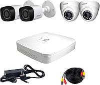 Комплект видеонаблюдения Dahua HDXVR-22WD KIT + HDD1000GB, фото 1