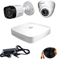 Комплект видеонаблюдения Dahua HDXVR-11WD KIT + HDD1000GB, фото 1