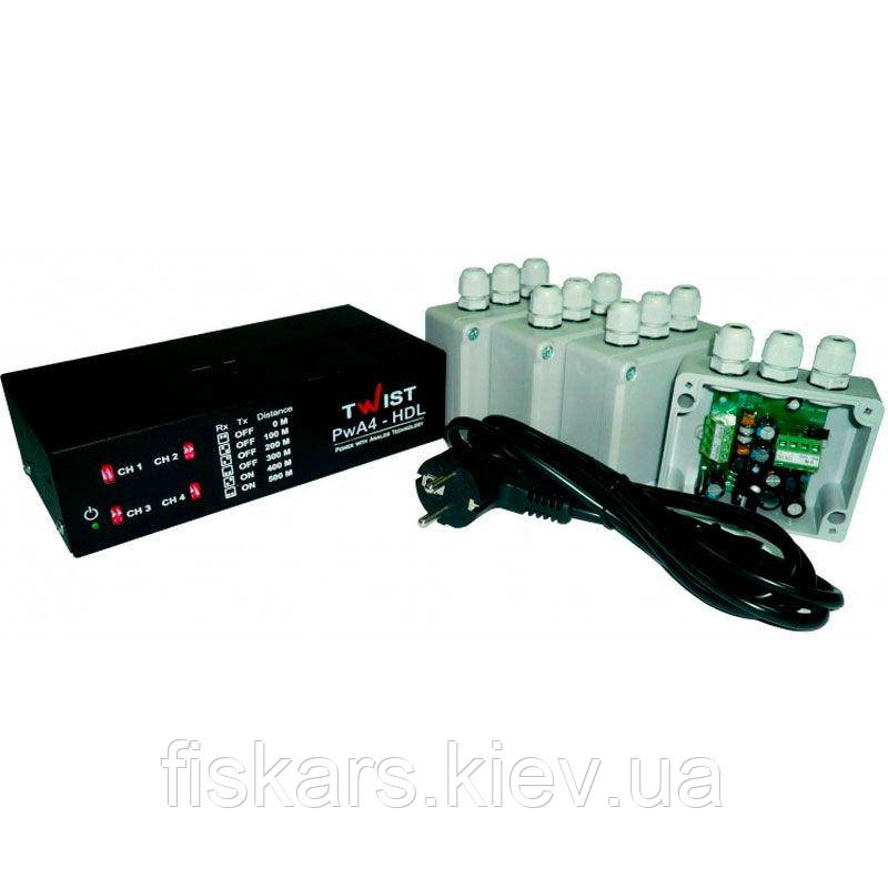 Комплект підсилювачів TWIST PWA-4-HDL