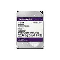 Жорсткий диск Western Digital Purple 10TB 256MB 7200rpm WD101PURZ 3.5 SATA III, фото 1