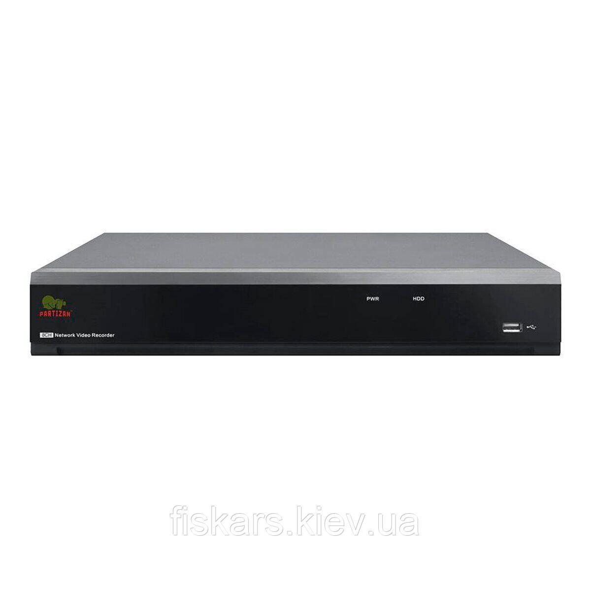 16-канальний 4К IP-реєстратор Partizan NVH-1622 POE SH