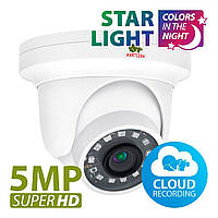 5 Мп IP-видеокамера Partizan IPD-5SP-IR Starlight v1.0 Cloud, фото 1