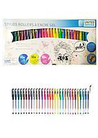 Набір гелевих ручок (30шт) United Office 0.8-1мм Різнобарвний