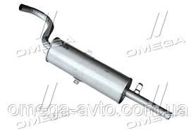 Глушник ВАЗ 2106 західною (е) (пр-во ТМК) 2101-1201005
