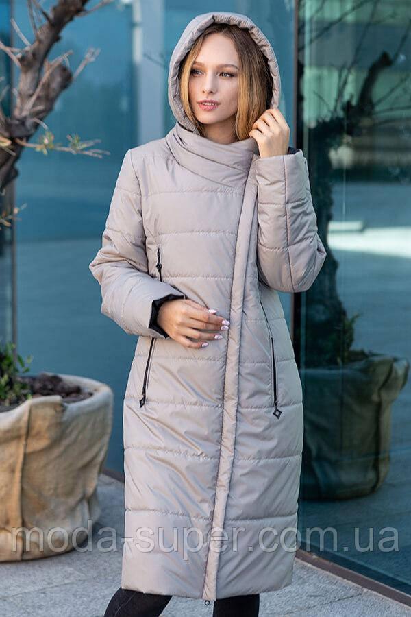 Жіноче пальто-куртка демисезон рр 46-56