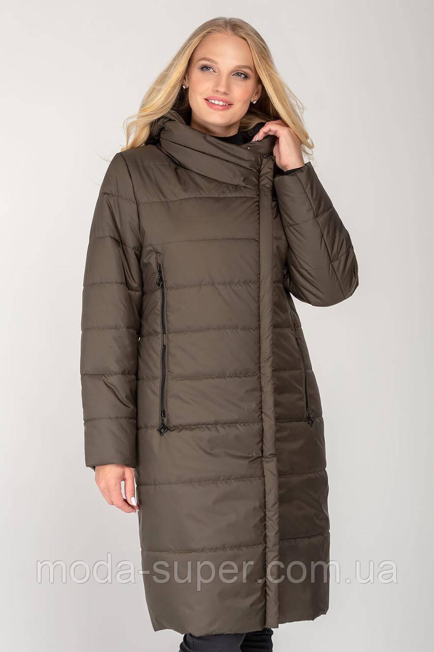 Женское пальто-куртка  демисезон рр 46-56