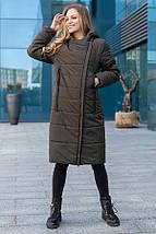 Женское пальто-куртка  демисезон рр 46-56, фото 3