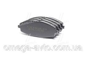 Колодки тормозные DAEWOO LANOS 1.5 передние (пр-во FriCo) FC 1337