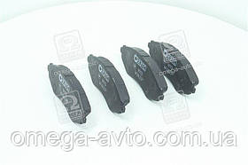 Колодки тормозные DAEWOO LANOS,NUBIRA передние безасбестовая (компл 4 шт) (пр-во ХЗТС) N113