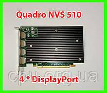 NVidia Quadro NVS 450 512Mb GDDR3 128bit PCI-Ex (4*DisplayPort)