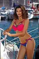 Модный женский купальник Marko M-455 Shirley Col 4 48(XL) Малиновый Marko M 455 Col 4