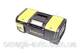 """Ящик для інструменту 16 """"пластмасовий"""" Line Toolbox """"; 39,4 x 22 x 16,2 см(про-во STANLEY) 1-79-216"""