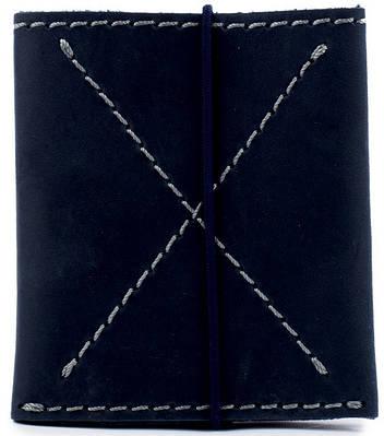 Мужской крепкий бумажник из натуральной кожи Black Brier П-7-97 темно-синий