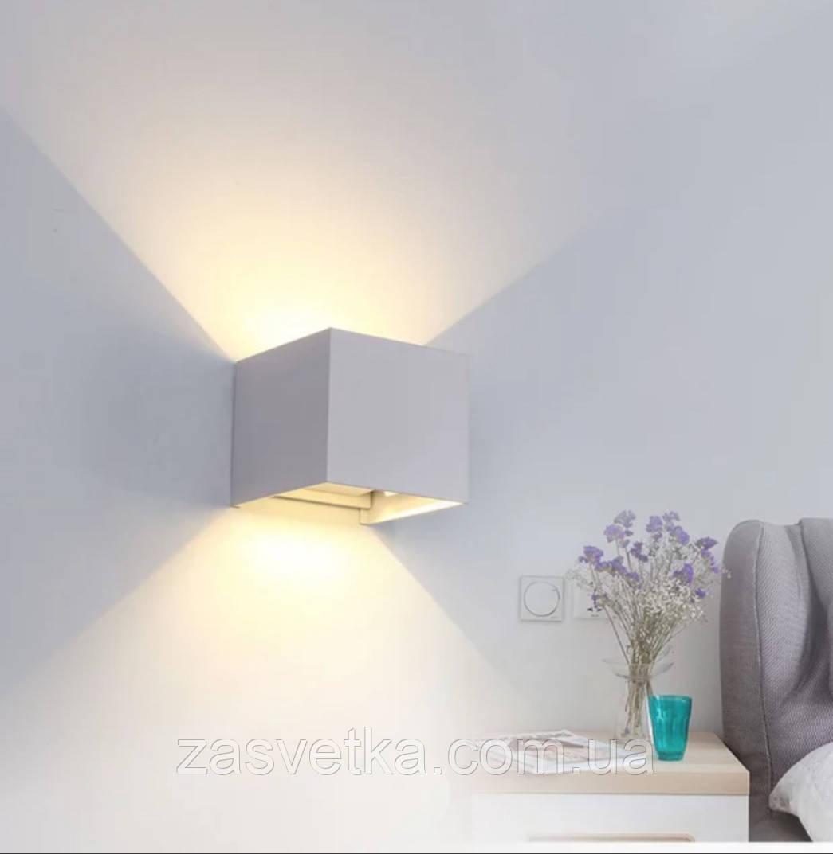 Настенный светильник ,бра В81 (белый,черный)