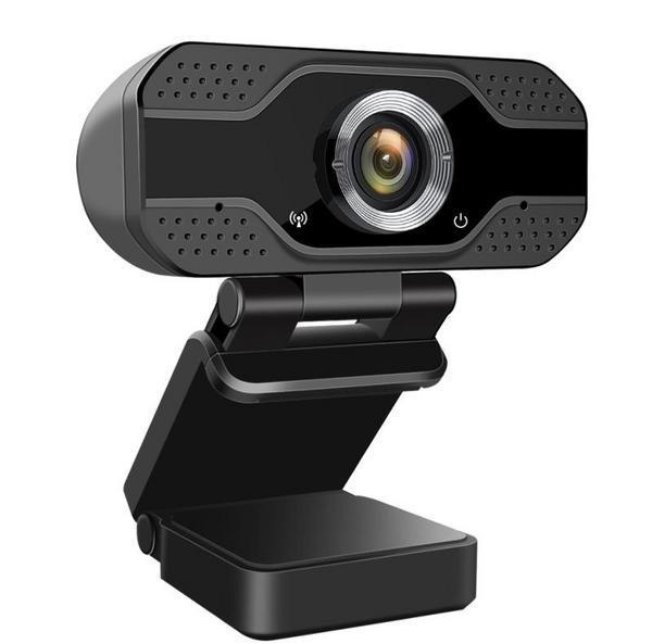 Веб-камера Dynamode 2.0 MegaPixels, 1920x1080 видео: до 30 к/с, угол 110°, USB, встр. микр., черная (W8-Full