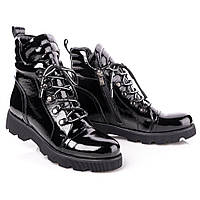 Ботинки лаковые на байке Tutubi