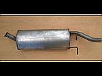 Глушник ЗАЗ Форза (Forza) седан алюминизированный Bosal