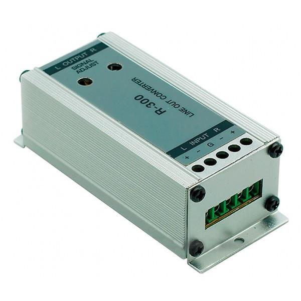 Преобразователь уровня сигнала Carav 2 канальный (R-300)