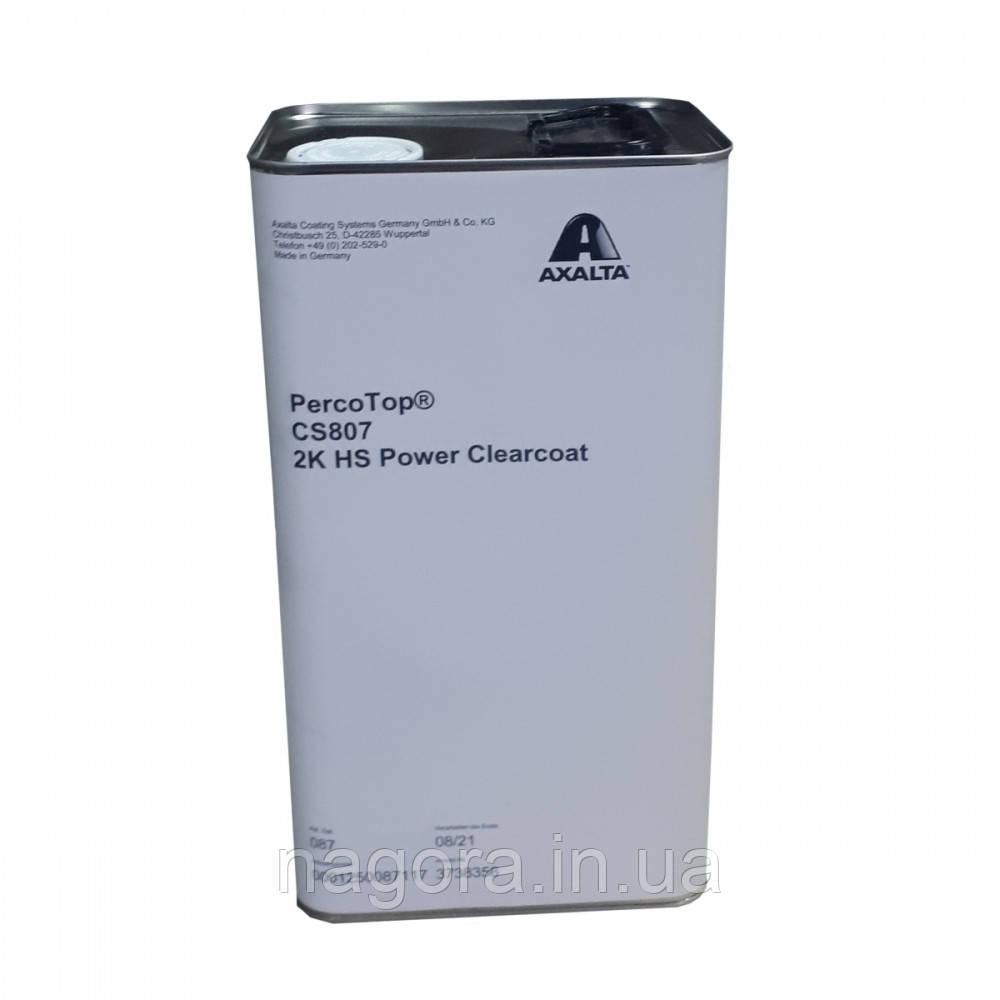 Поліуретановий лак з високим сухим залишком CS807 PERCOTOP 2K HS (5л)