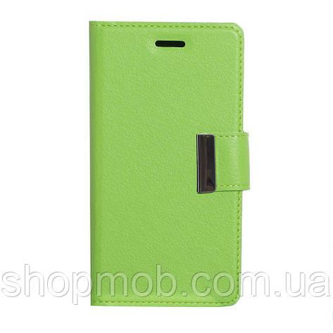 """Чохол-книжка Valenta 4.5"""" Колір Зелений, фото 2"""