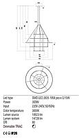Подвесной светильник REDO 01-2249-DALI ORBIT Bronze