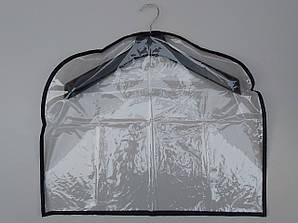 Чехол-накидка прозрачный для хранения одежды 60*50 см