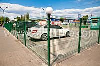 Ограждение периметра автомобильных парковок