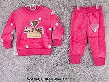 Детский спортивный костюм 1-2 d.pink