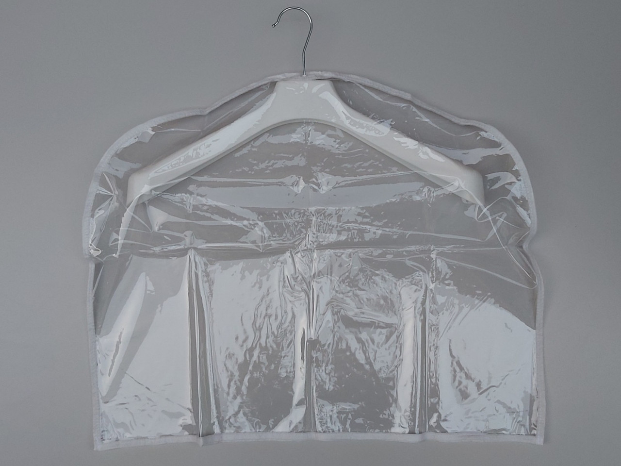Чохол-накидка прозорий для зберігання одягу 60*50 см