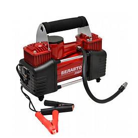 Автомобильный компрессор BELAUTO Зубр двухпоршневой 85 л/мин (BK45)