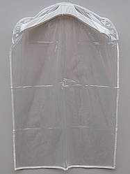 Чехол-накидка прозрачный для хранения одежды 60*90 см