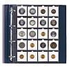 Лист для монет в картонных холдерах 50Х50 мм #433