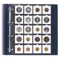 Лист для монет в картонных холдерах 50Х50мм - SAFE Pro